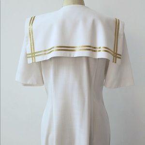 Leslie Fay Dresses - Vintage Nautical Dress